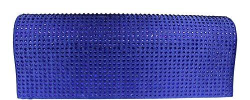 Neue Hand Tasche, Poschette giorno donna blu blau 1