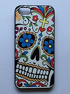 LYYF New Fashion Cool High Quality Colorful Skulls and White Teeth Hard Case/cover for Iphone 5/5s