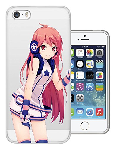 C0383 - Cool Fun Trendy Cute Kawaii Chinese Japanese Cartoon Sexy Girls Manga Art Mini Skirt Design iphone 5 5S Fashion Trend Protecteur Coque Gel Rubber Silicone protection Case Coque