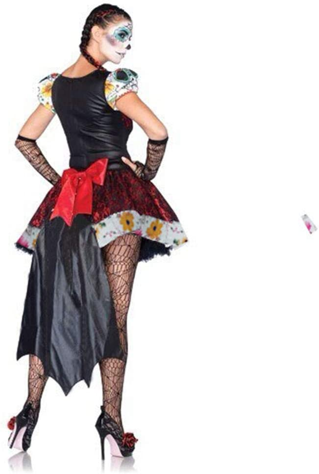 CAGYMJ Cosplay Dress Ropa De Mujer,Medieval Esqueleto Fantasma ...
