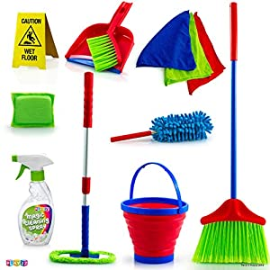 Play22 Kids Cleaning Set 12 Piece