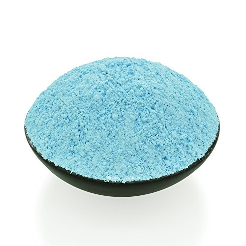 Bluejoy Genuine Pure Natural Turquoise Powder Produced from Southwest American Turquoise Perfect for Silver Art, Wood Inlay and Jewelry Designs (1/2 ()