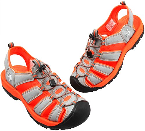 Gray Stylish 1158 Women Summer 7 Orange Tracking Shoes Men Paperplanes Aqua Sandals 8 0gBxd5w