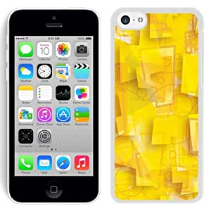 New Beautiful Custom Designed Cover Case For iPhone 5C With Polygons (2) Phone Case