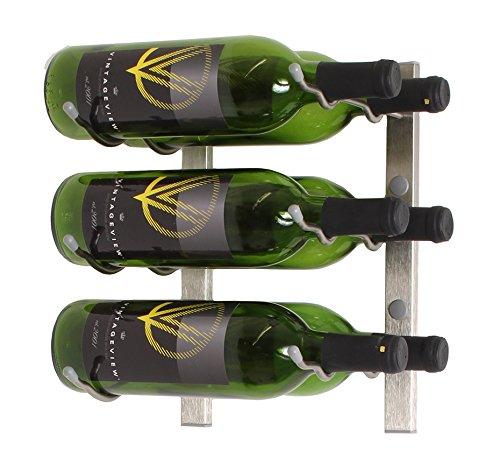 nickel wall wine rack - 5