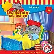 Benjamin ist krank (Benjamin Blümchen 54) | Elfie Donnelly