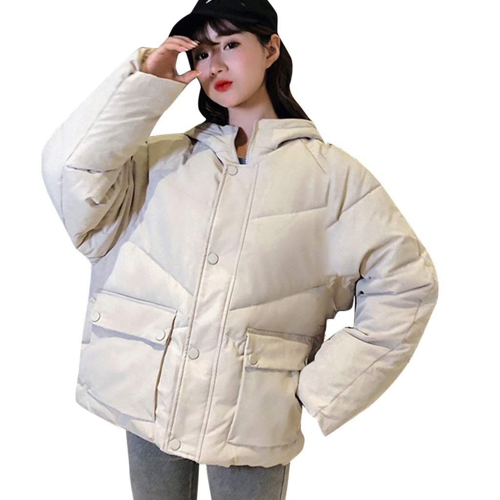 Vintress Womens Down Jacket,Vintress Ladies Slim Down Padded Winter Warm Parka Outwear Coat by Vintress