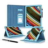 Surface Pro 3 Case, Microsoft Surface Pro 3 Case, rooCASE Dual View Leather PU Folio Slim Fit Stand Tablet Cover...