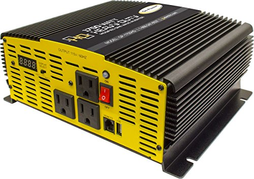 Go Power! GP-5000HD 5000-Watt Heavy Duty Modified Sine Wave Inverter (1750)