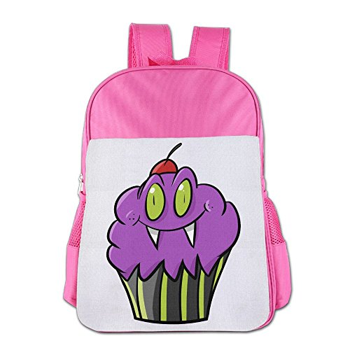 Halloween Cupcake Printables (Kanduquyi Halloween Cupcake Kids' Backpacks Cute Children Backpack Schoolbags For Boys And Girls Pink)