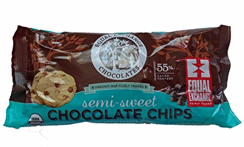 - Chocolate Chips Semi Sweet 55% Cacao, Organic 10 Ounces (Case of 12)