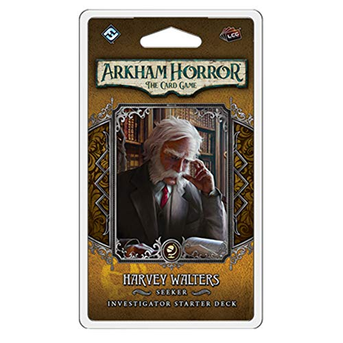 Fantasy Flight Games Arkham Horror LCG: Harvey Walters Investigator Starter Deck (AHC48)