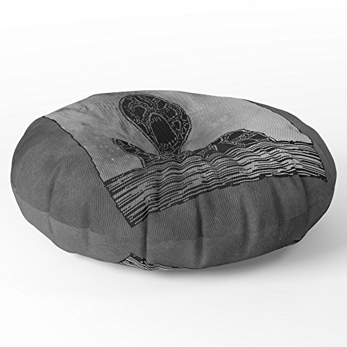 Society6 Magma Giant Floor Pillow Round 30