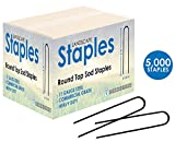 Sandbaggy Round Top Landscape Staples ~ SOD Staples Garden Stakes Square Pin … (5000)
