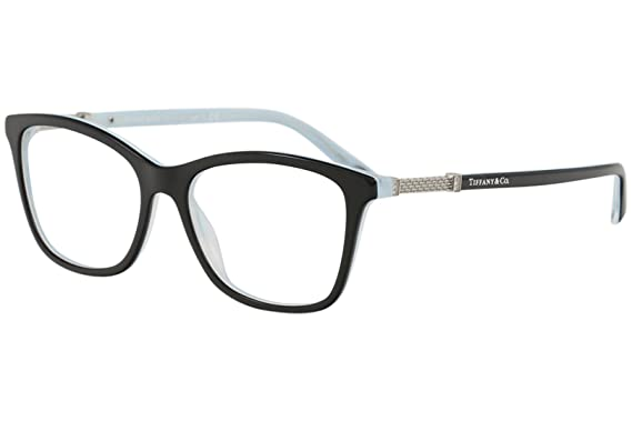 49aae5e07a Tiffany eyeglasses TIF 2116B eyeglasses 8193 Black striped blue 53mm at  Amazon Women s Clothing store