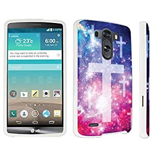 DuroCase ? LG G3 Hard Case White - (Space Cross) by icecream design