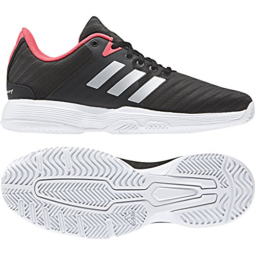 adidas Zapatillas de Tenis 000 Court Mujer Negro Negro para Barricade W OOwPCZq