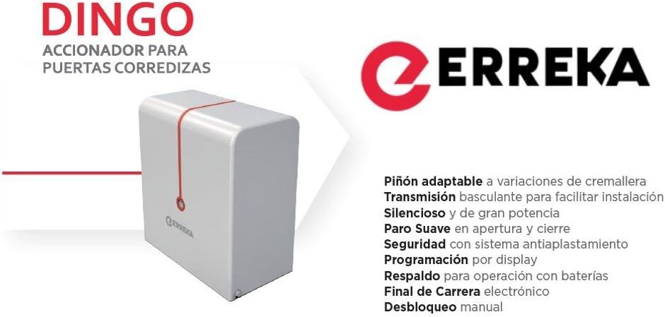 Motor Erreka para Puerta Corredera DINGO hasta 400kg: Amazon.es: Bricolaje y herramientas