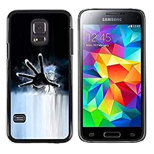 Shell-Star Arte & diseño plástico duro Fundas Cover Cubre Hard Case Cover para Samsung Galaxy S5 Mini / Galaxy S5 Mini Duos / SM-G800 !!!NOT S5 REGULAR! ( Hand )
