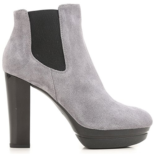 H313 Grigio 38½ Boots Donna Ankle Hogan Suede x08nIUdq0a