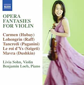 Opera Fantasies for Violin