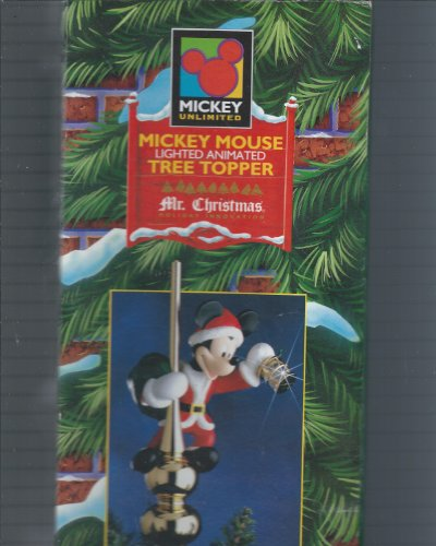 Mr Christmas Disney Mickey Mouse Animated Tree Topper by Mr. Christmas (Image #1)