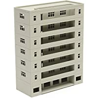 New Models Railway Dormitory School Building Unpainted Scale 1:160 N HO FOR GUNDAM By KTOY