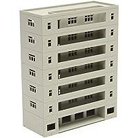 New Models Railway Dormitory School Building Unpainted Scale 1:160 N HO FOR GUNDAM By KTOY