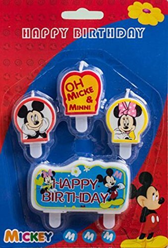 Disney Minnie Candles Cartoon Birthday product image