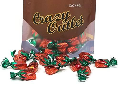 - CrazyOutlet Pack - Arcor Strawberry Buds Bon Bon Filled Hard Candy, Sachet Wrap, 2 Pounds