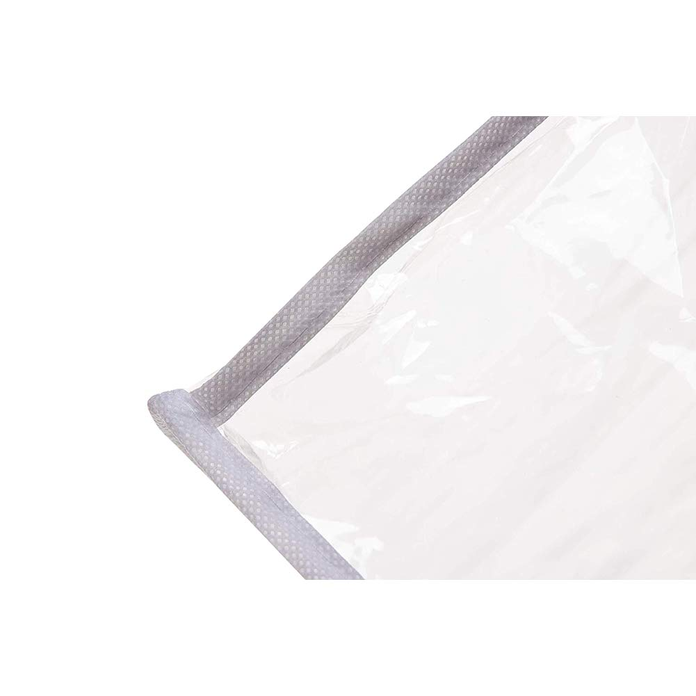 e024ed59576b QEES Large Hanging Wardrobe Cover, Clear Clothing Garment Cover Bag ...