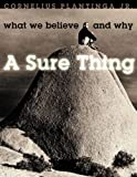 A Sure Thing, Cornelius Plantinga, 1562127799