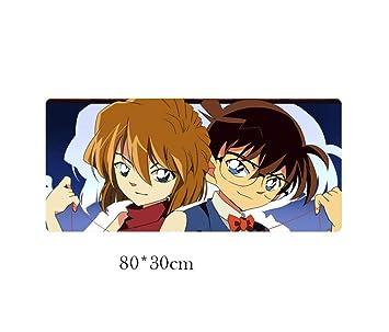 JYMYTL Alfombrillas de ratón Detective Conan Anime 80 * 30 Cm ...