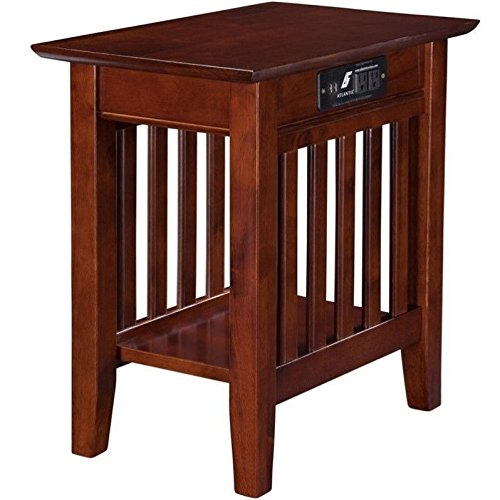 top 5 best end tables usb ports for sale 2017 product realty today. Black Bedroom Furniture Sets. Home Design Ideas