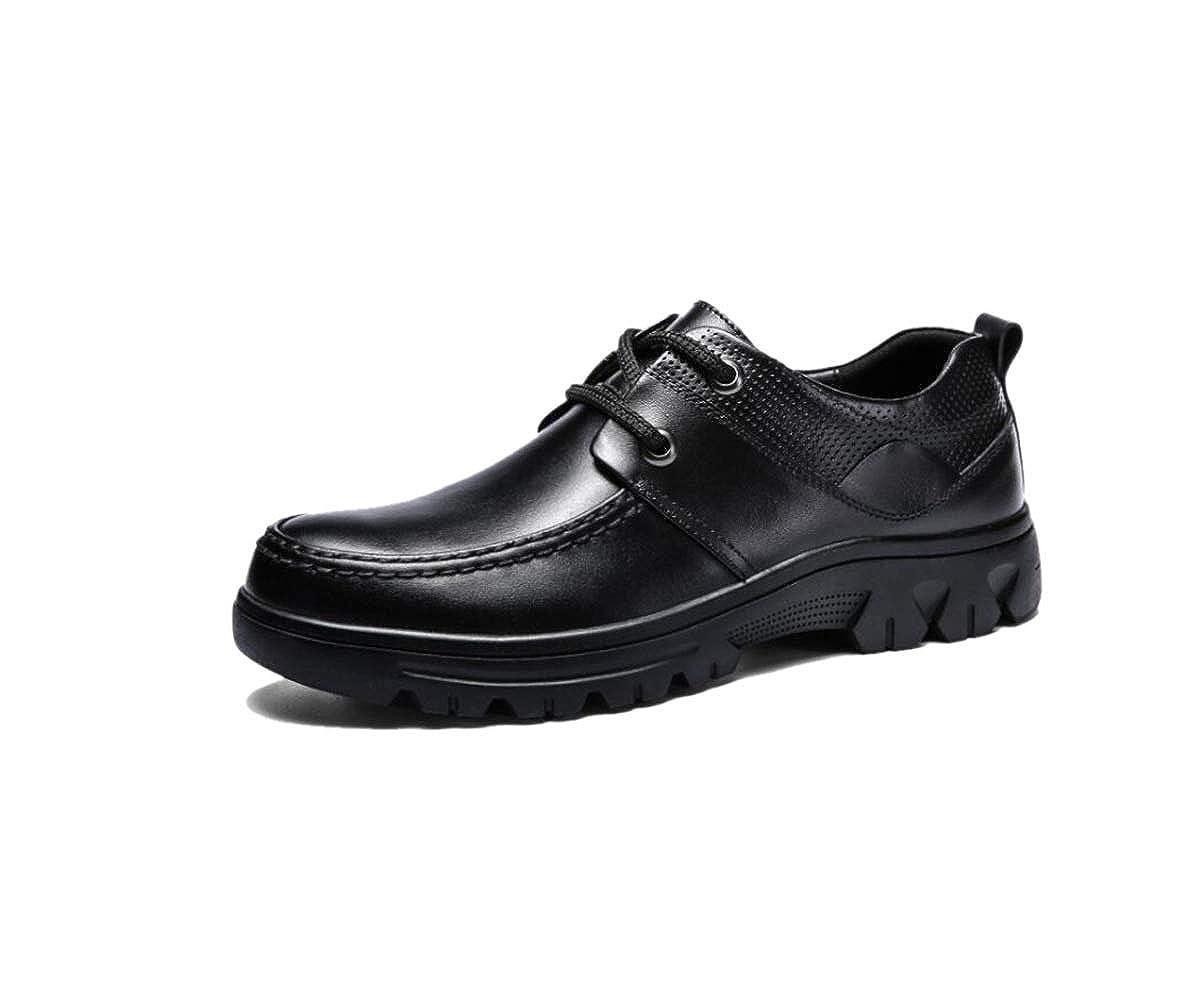 GGLZMMF Frühling Und Herbst Schuhe Herren Casual Schuhe Geschäft Kleid Niedrige Schuhe schwarz