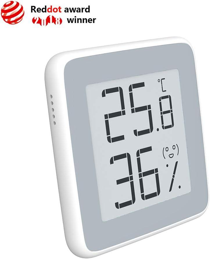 Homidy Hygrometer Digital Thermometer Innen E Ink Hd Display Digital Thermo Hygrometer Innen Feuchtigmesser Küche Haushalt