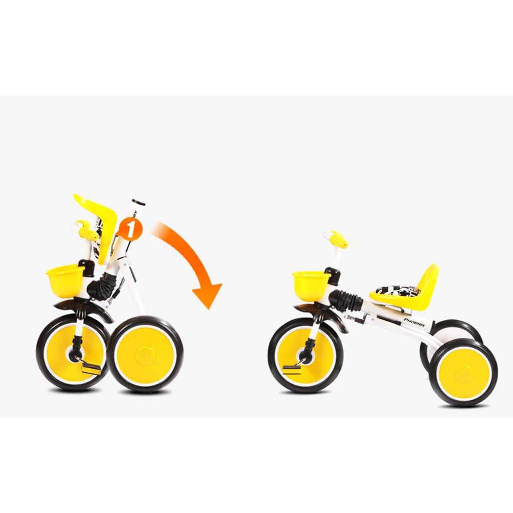 Niños Triciclo Alto Acero Bicicleta De Carbono 4Ajq53RL