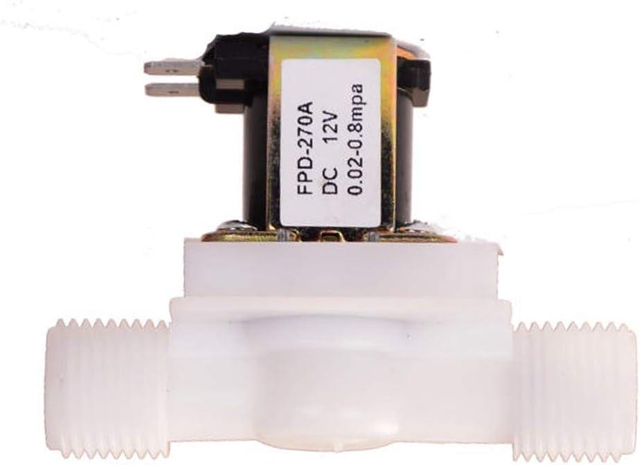 /électrovanne /électrique normalement ferm/ée 2 voies de r/égulation de pression G1//2 DC12 V Dispositif de d/érivation deau Electrovanne G3//4