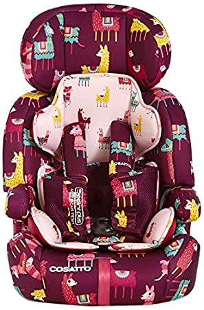 Cosatto Zoomi Car Seat Group 1 2 3 (9-36 kg) - Llamarama: Amazon.co ...