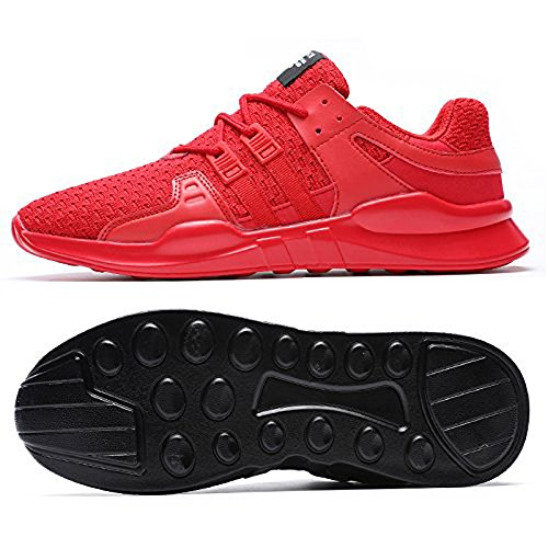 Classic Leather Sports Jacky's Male Footwear Shoes Unisex Red Comfortable Black Men Fashion xOY0wOaq