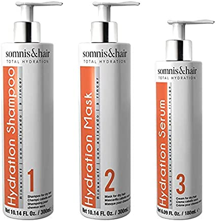 somnis&hair by abril et nature Pack Total Hydration Tratamiento Cabellos Secos: Amazon.es: Belleza