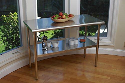TRINITY EcoStorage NSF Stainless Steel Table, 48-Inch by Trinity (Image #10)