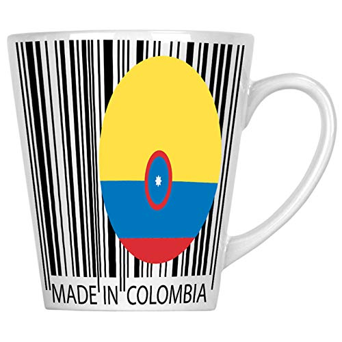 Made in Colombia Travel World Funny Novelty 12oz Latte Mug uu46L