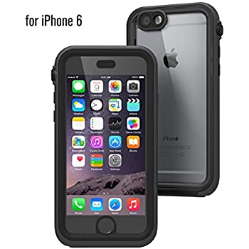 buy popular bdd0d e220a Catalyst iPhone Case Waterproof Shock Resistant Case for Apple iPhone 6 -  Black and Space Gray