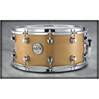 "Mapex 14"" x 07"" MPX Glossy Natural Maple Snare Drum MPML4700C-NL"