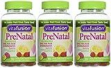 Vitafusion Prenatal, Gummy Vitamins cPBSip, 3Pack (90 Count)