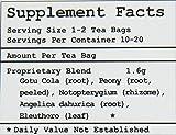 Health King Medicinal Teas HeadachEase Herb Tea Bags, 20 Count