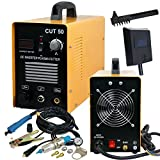 Super Deal DC Inverter Plasma Cutter Machine With Screen Display Dual Voltage 110/220VAC 1/2