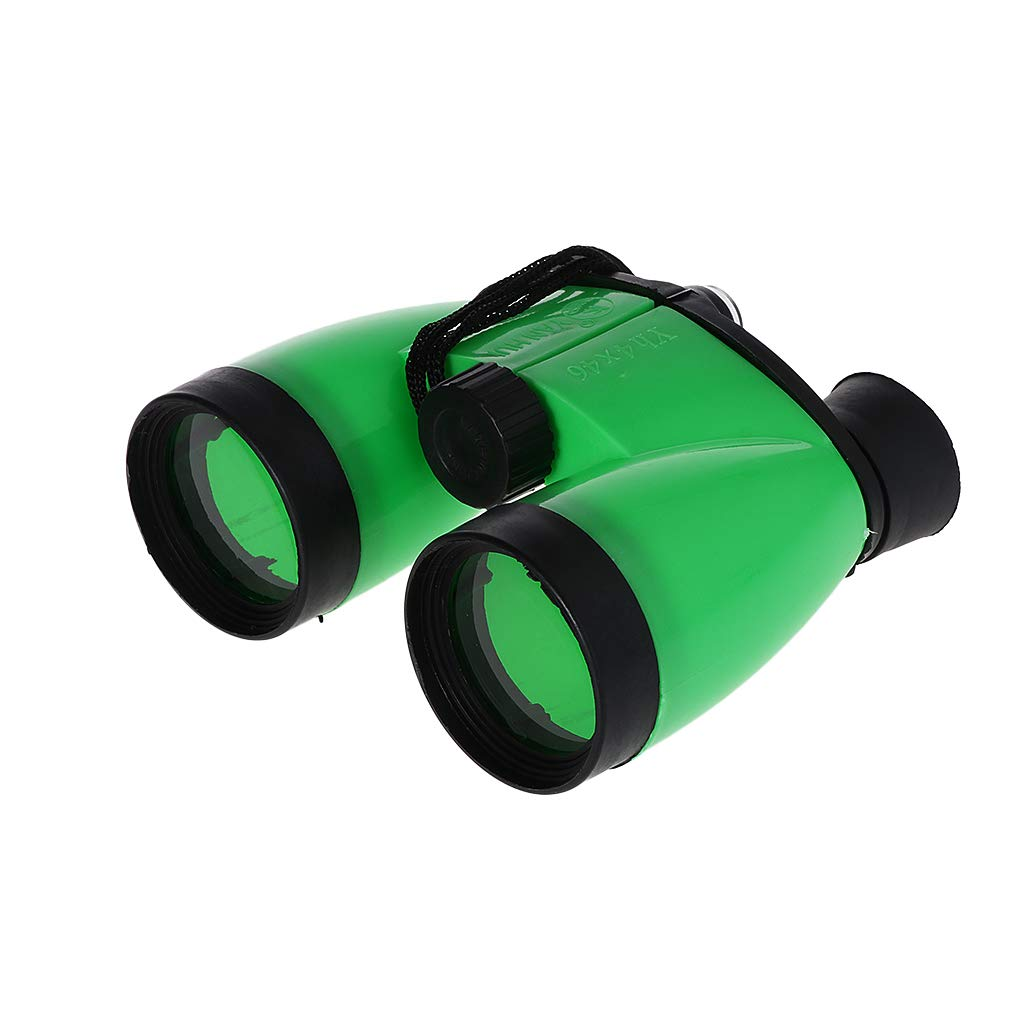 caza de viaje Prism/áticos infantiles 4x46 alta definici/ón color verde Einheitsgr/ö/ße