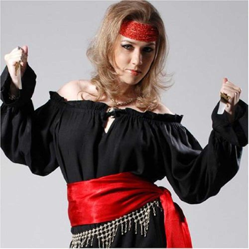 Pirate Wench Costume Blouse